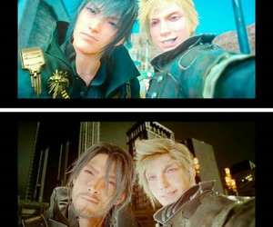 final fantasy, yaoi, and prompto image