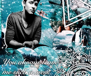 edit, shawn, and teal image
