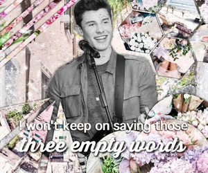 edit, floral, and shawn image