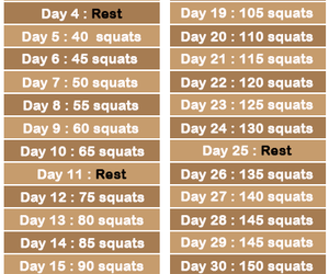 squats and healthy image
