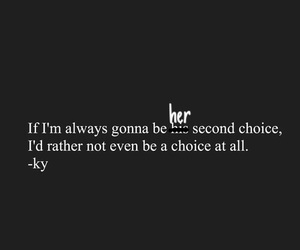 her and second choice image