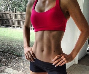 fit, fitness, and abs image