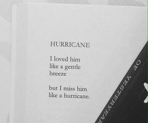 books, hurricane, and letters image
