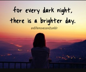 quotes, day, and night image