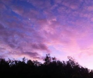 sky, purple, and nature image