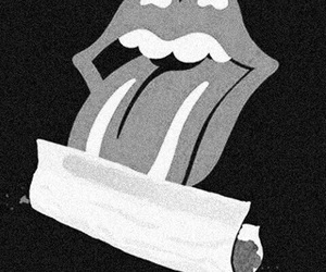 weed, smoke, and rolling stones image