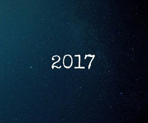 2017, new year, and wallpaper image