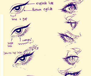 art, eye, and tutorial image