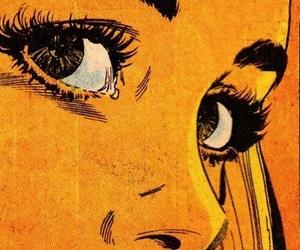 comic, yellow, and aesthetic image