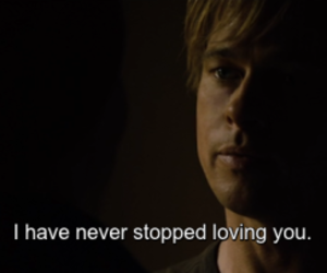 benjamin button, frases, and brad pitt image