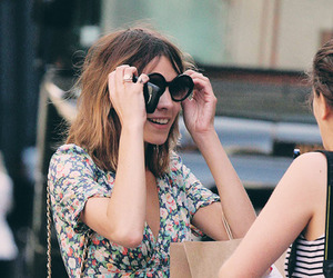 alexa chung, chanel, and floral image
