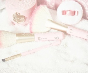 Brushes, pink, and aesthetic image