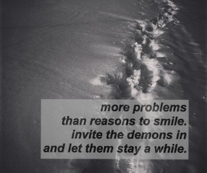 demons, grunge, and problems image