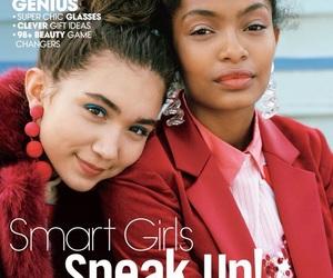 yara shahidi, magazine, and Teen Vogue image