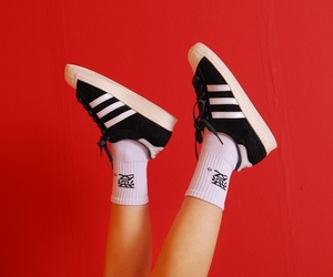 adidas, aesthetic, and red image