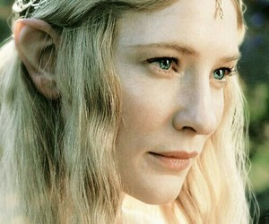 galadriel, elf, and lord of the rings image