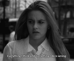 Clueless, quotes, and wrong image