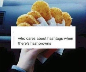 food, funny, and hashtags image