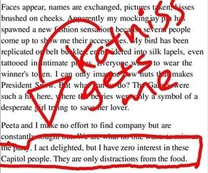 food, funny, and katniss image