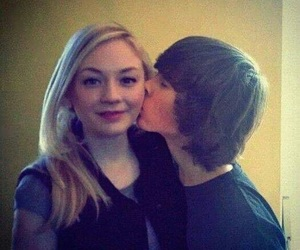 chandler riggs, twd, and emily kinney image