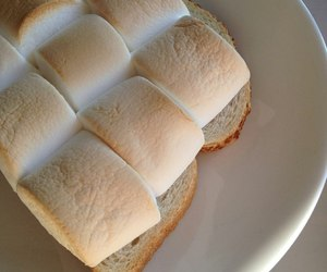 marshmallow, beige, and food image