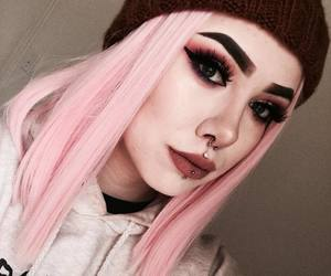 alternative, inked, and makeup image