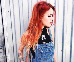 fashion, red hair, and luanna90 image