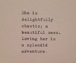 love, adventure, and quotes image