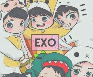 exo, whi, and love_exo image