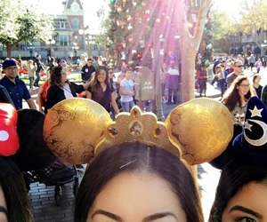 belle, disneyland, and minniemouse image