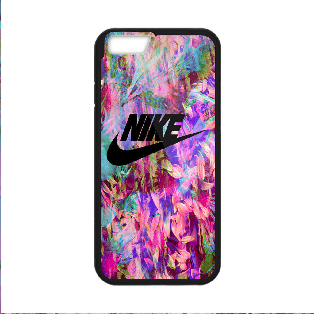 Cheap New Rare Floral Nike Logo Foriphone 6 6s 6s 7 7 Print On