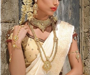bollywood, dress, and jewellery image