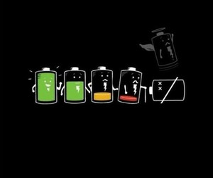 battery, bateria, and wallpaper image