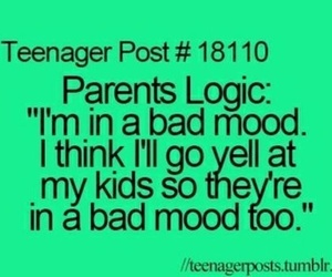 parents, true, and teenager post image