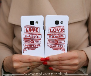 phone cover, ontwerp zelf, and hard case image