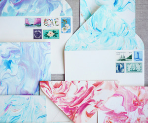 cards, colorful, and letters image