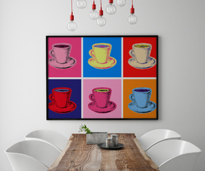 art, canvas print, and colorful image