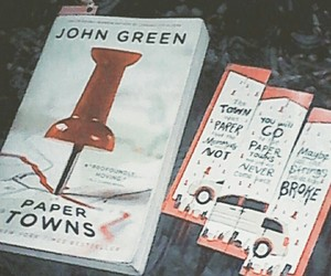 bibliophile, johngreen, and books image