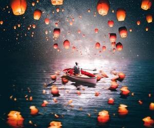 far, ocean, and fairy tale image