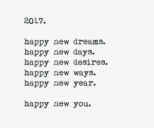 new you, new year, and wishes image