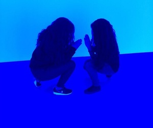 blue, girl, and aesthetic image