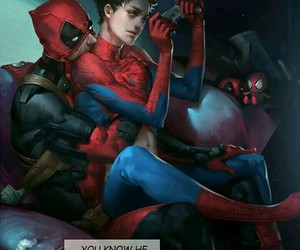 spideypool, Avengers, and deadpool image