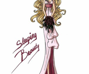 disney, sleeping beauty, and art image