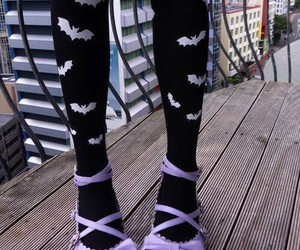 shoes, pastel goth, and purple image