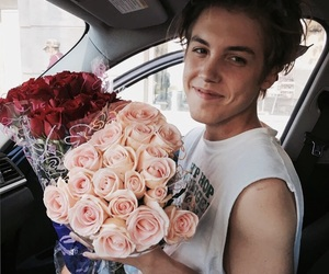flowers, matthew espinosa, and boy image