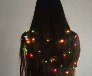 hair and garland image