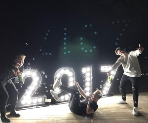 boys, new year, and youtube image