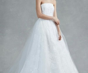 bridal, fashion, and wedding dress image