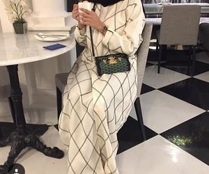 muslim, modest fashion, and abaya image