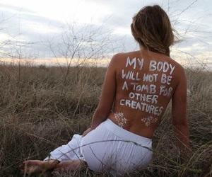 body, girl, and vegan image
